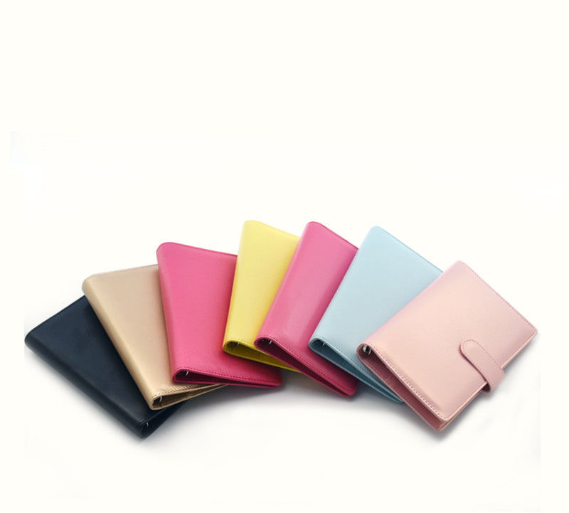 Colorful A5 Personalized Planners And Organizers Durable With Magnetic Button