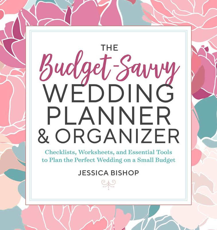 Undated A4 Custom Personal Planner Hard Cover For Bridal Wedding Diary
